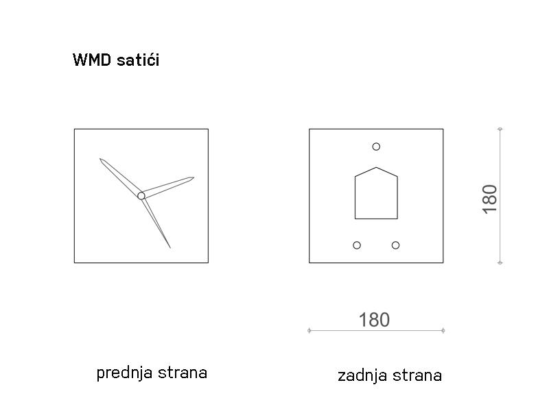 WMD Small clocks