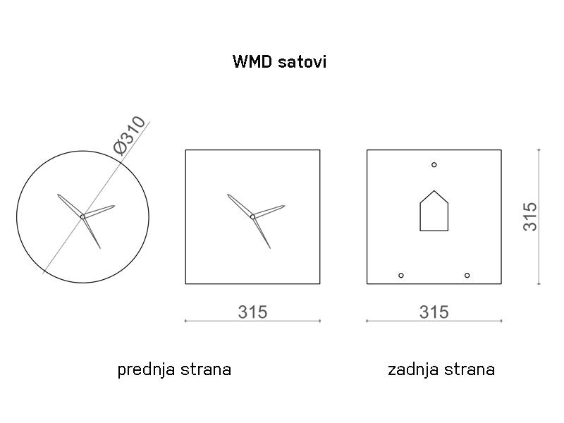 WMD Clocks Numbers/Dash