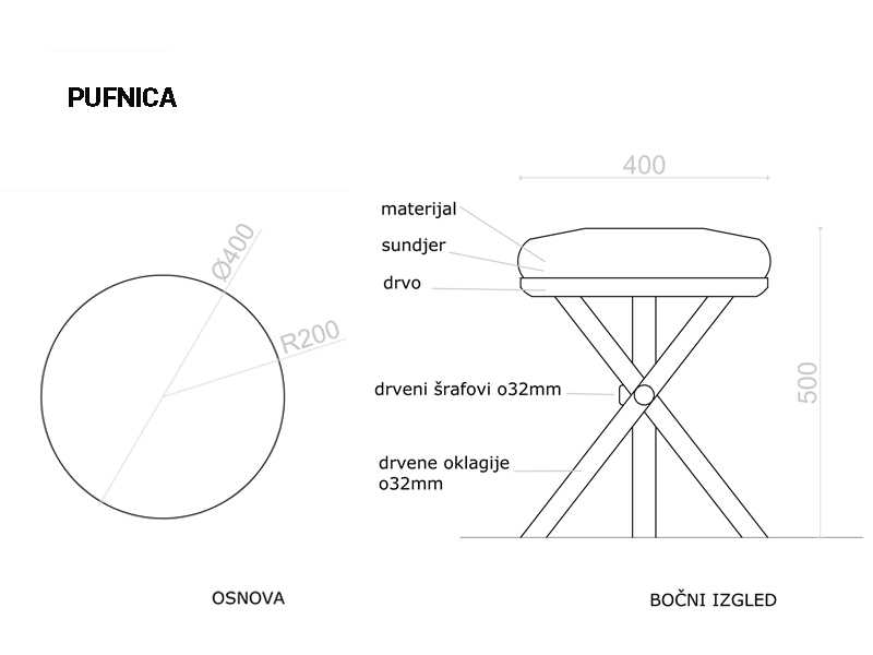 Dot stool