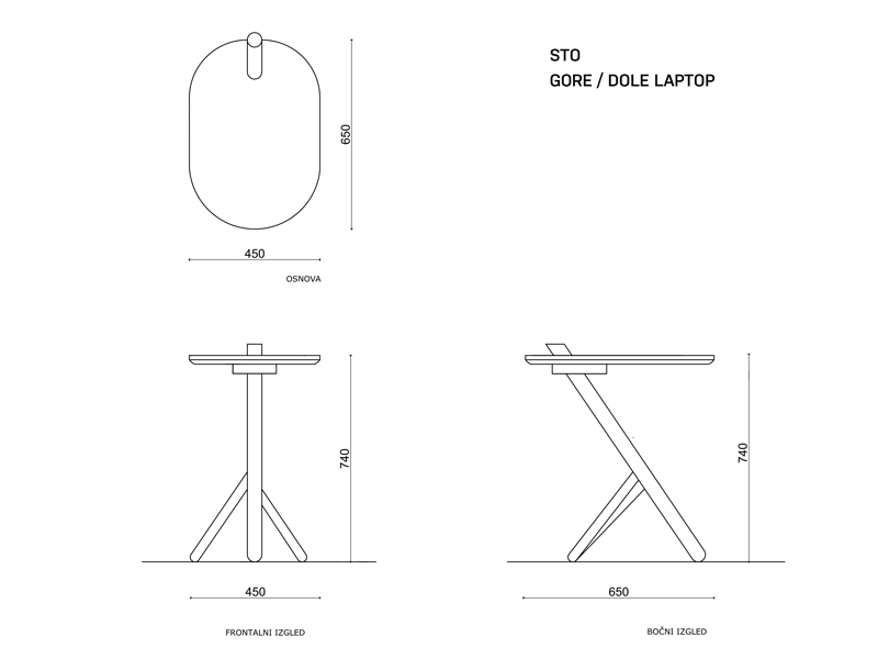 TABLE UP/DOWN  laptop