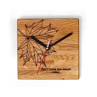 Clocks Leaf