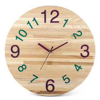 Wall Clock Ash