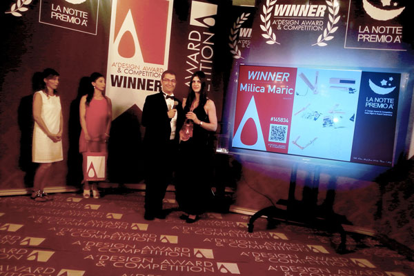 A'Design Award & competition, gala night / June 2016.